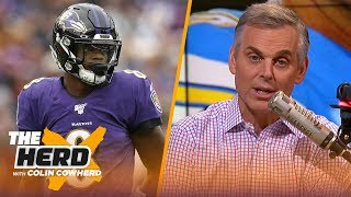 Colin Cowherd plays the 3-Word Game after NFL Week 11 | NFL | THE HERD