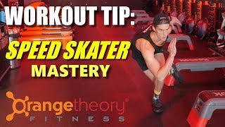 Orangetheory Workout: Mastering The Speed Skater Lunge
