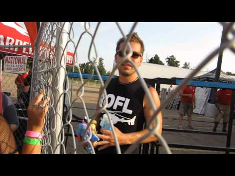 warped tour 2012 (meeting Charles Trippy)