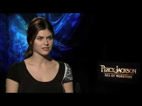 Alexandra Daddario Interview -- Percy Jackson: Sea of Monsters
