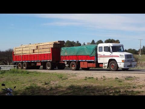 CAMIONES ARGENTINOS,CHILENOS Y BRASILEÑOS EN LA PAMPA PARTE 29