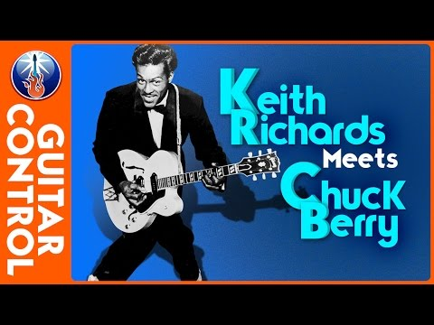 Keith Richards meets Chuck Berry