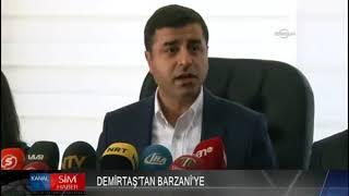 "DEMİRTAŞ'TAN BARZANİ'YE ""REFERANDUM ELEŞTİRİLERİNİ DİKKATE AL"""