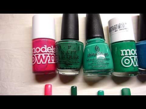 Top 10 Favourite Nail Polishes of 2010! HD Video