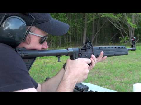 Shooting The Kel-Tec Sub 2000 9mm Carbine