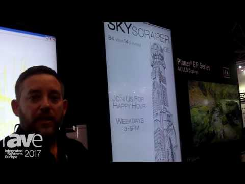ISE 2017: Planar Leyard Features the QE Series of 4K LCD Displays for Digital Signage