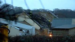 Fire at West Fishleigh Hatherleigh Pt 2 The aftermath