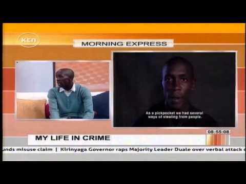 Morning Express Discussion: Ghetto Radio presenter King Kafu speaks on his past as a criminal