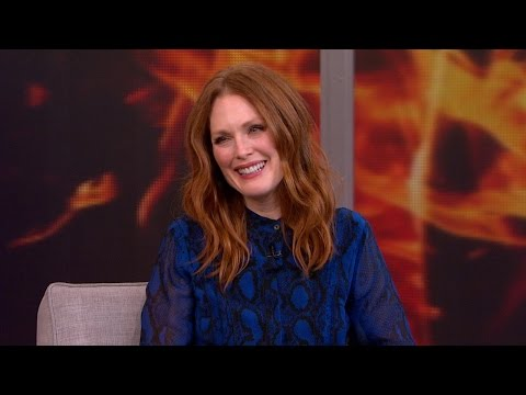 Julianne Moore on Philip Seymour Hoffman, 'Hunger Games'