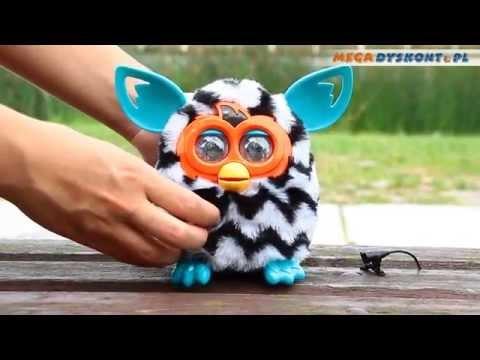 Furby Boom ZigZag Stripes / Furby Boom Zebra - www.MegaDyskont.pl - sklep z zabawkami