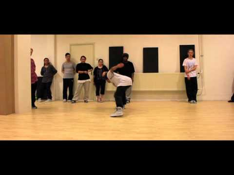 Jon B Lately beginners HIP HOP @ EDS