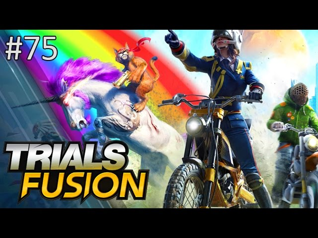 Please Don't Watch This Nick Made Me Post It - Trials Fusion w/ Nick