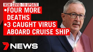 Coronavirus: NSW Health Minister announces four new COVID-19 deaths | 7NEWS