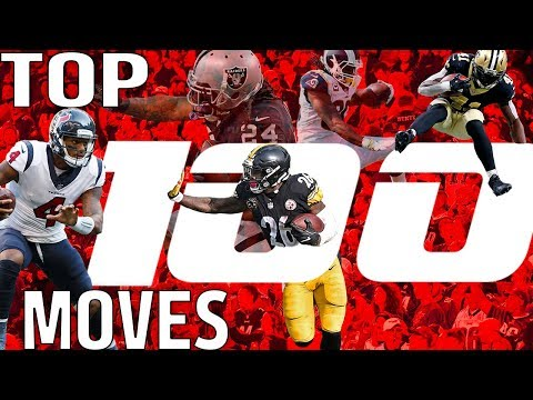 Top 100 Moves (Jukes, Stiff Arms, & Hurdles) of the 2017 Season! | NFL Highlights