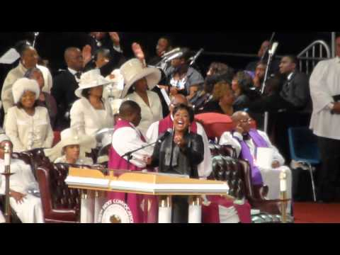 Audrey DuBois-Harris on Officia Day at the 105th COGIC Holy Convocation