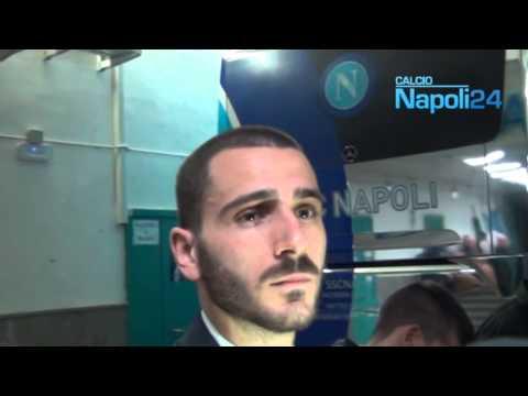 Leonardo Bonucci in mixed-zone dopo Napoli-Juventus 1-3