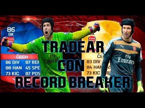 TRADEAR CON PETR CECH RECORD BREAKER