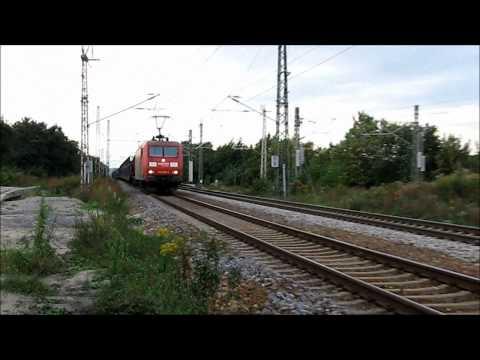 railfanning germany; BR 145 & BR 185