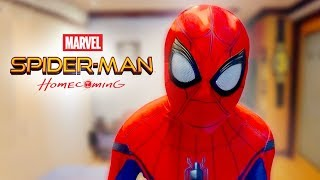 Spider-Man Homecoming Suit (MCU Cosplay) 2018 Review | Unbox Everything Philippines