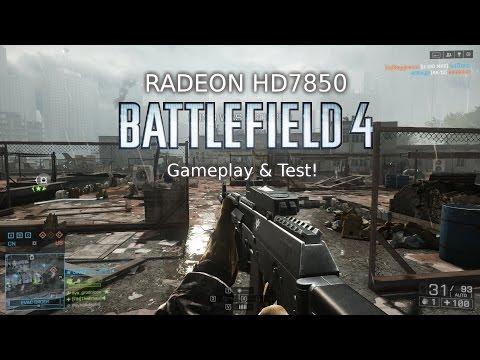 Battlefield 4 Radeon HD7850 Gameplay & Test