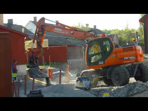 Doosan DX140W Wheel Excavator