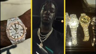 """Offset Migos """"Shows Off His $750K Collection Of Watches"""""""