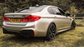 The 2019 BMW M5 Competition is UNBELIEVABLY FAST! *First Drive Review*