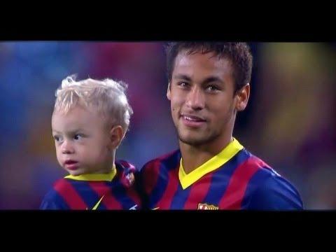 Neymar ● Barcelona 2013 2014 ● Goals Skills
