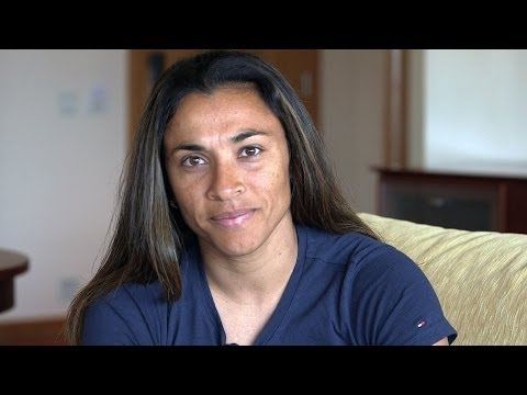 UNDP Goodwill Ambassador Marta Vieira da Silva Plays for Gender Equality