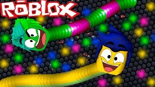 NEW SLITHER.IO IN ROBLOX! 😂 DRAGON RIDERS