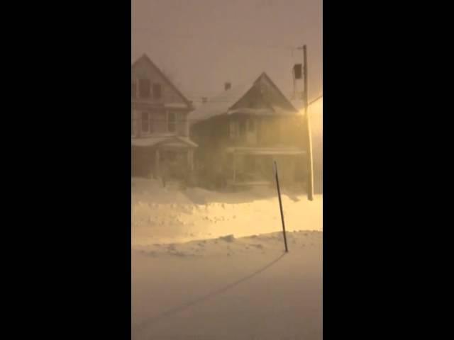 Thunder Snow in Buffalo