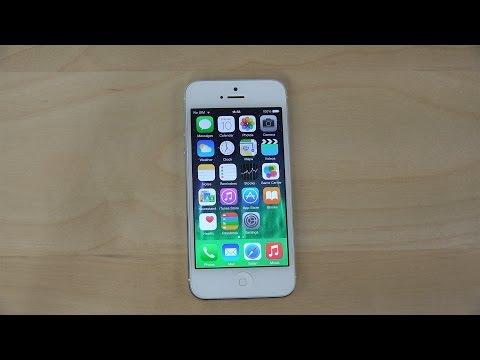 iPhone 5 iOS 8.3 Beta - Review (4K)