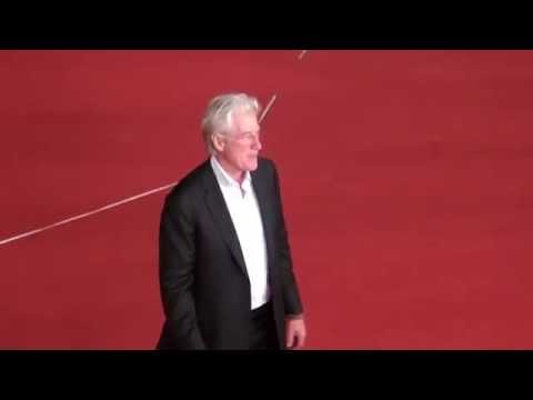 Richard Gere Time Out of Mind Red Carpet Rome Film Fest