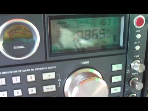 9965 khz DEEWA RADIO via VOA via Udon Thani , Thailand