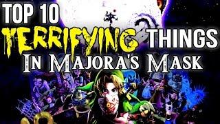 Top 10 TERRIFYING Things In Majora's Mask