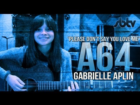 "SBTV: Gabrielle Aplin – ""Please Don't Say You Love Me"" – A64 [S6.EP31] 