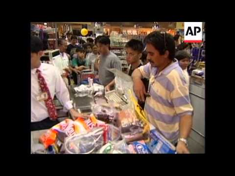 PHILIPPINES: FILIPINOS WHO WORK OVERSEAS RETURN HOME FOR XMAS