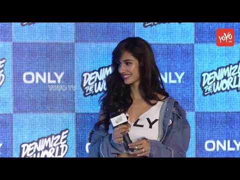 Disha Patani And Only India At Grand Unveil Of 'Denimize The World' Campaign | YOYO TV Hindi