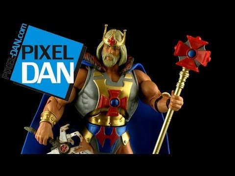 Masters of the Universe Classics King He-Man Figure Video Review