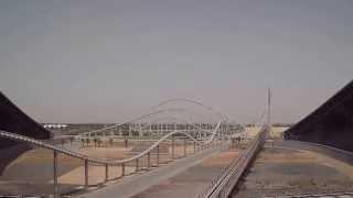 Ferrari World в Абу-Даби, «Formula Rossa» – самая быстрая американская горка в мире.