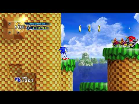 Lets Play Sonic the hedgehog 4 Episode 1 Part 1
