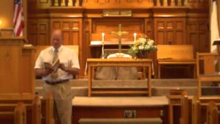 "Jesus Said, ""I Am"" Sermon Series Part 2 B 7/28/13 HDV 0026"