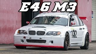 BMW E46 sedan M3 - very loud induction sound
