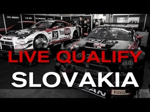 FIA GT Slovakia 2013 - LIVE QUALIFYING RACE