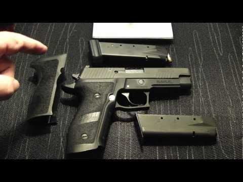 Sig Sauer P226 Elite 9mm Tac Ops Conversion