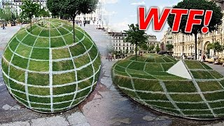THE CRAZIEST OPTICAL ILLUSIONS
