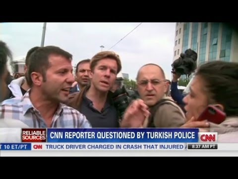 CNN reporter questioned by Turkish police