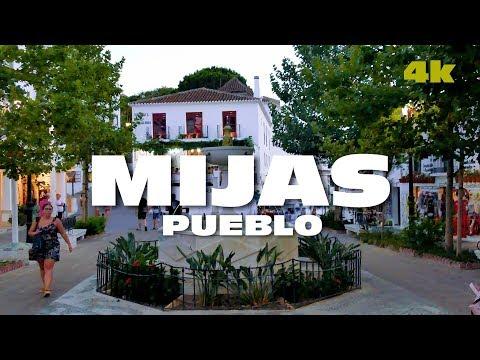 VISITA A MIJAS PUEBLO - MALAGA ESPAÑA 4K
