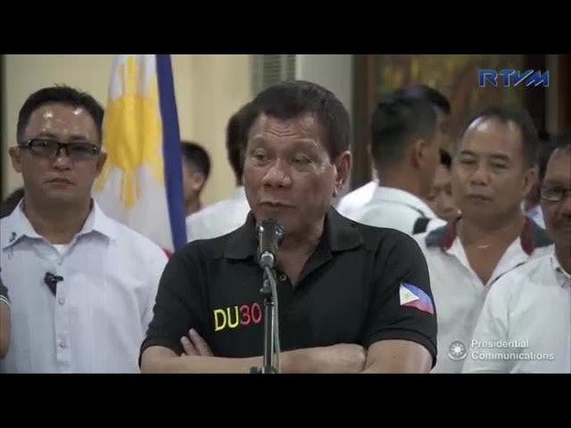 Duterte: I told Faeldon to take a few days off