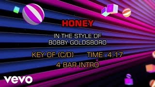 Bobby Goldsboro - Honey Karaoke